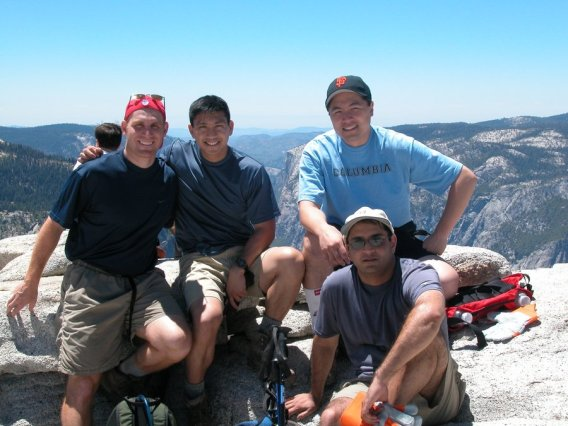Yosemite-HalfDome-Summit-Success-YExplore-DeGrazio-JUL2003