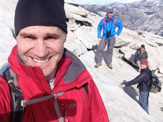 Yosemite-HalfDome-Selfie-YExplore-DeGrazio-FEB2015