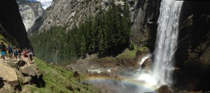 A Tale of Two Waterfall Panos: Yosemite Panorama Photos 2015.06.09