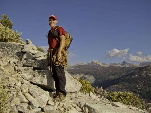 Half Dome Snake Dike DeGrazio Yosemite Ambassador