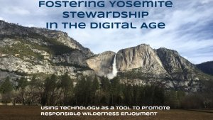 Yosemite Stewardship Outreach REI