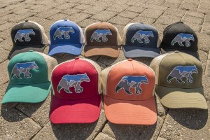 Yosemite Bear Trucker Caps