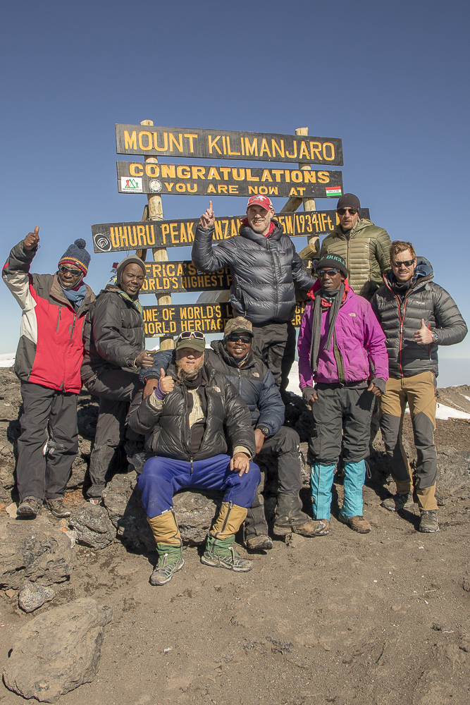 Searching For Snow on Mount Kilimanjaro