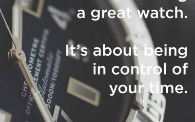 Be In Control of Your Time