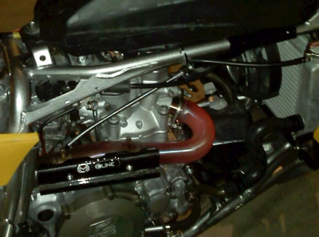 red hot header pipe yfz central