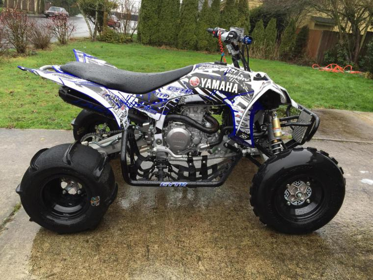Yfzr Custom Graphics