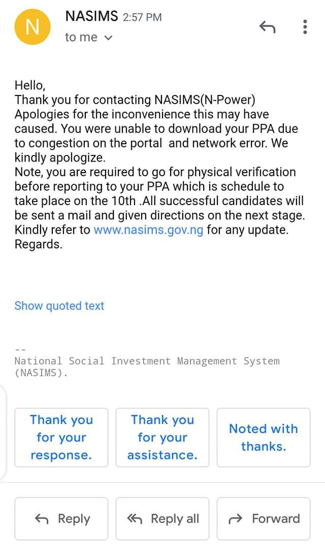 Check: Npower Batch C Stream 1 Physical Verification Date & Requirements