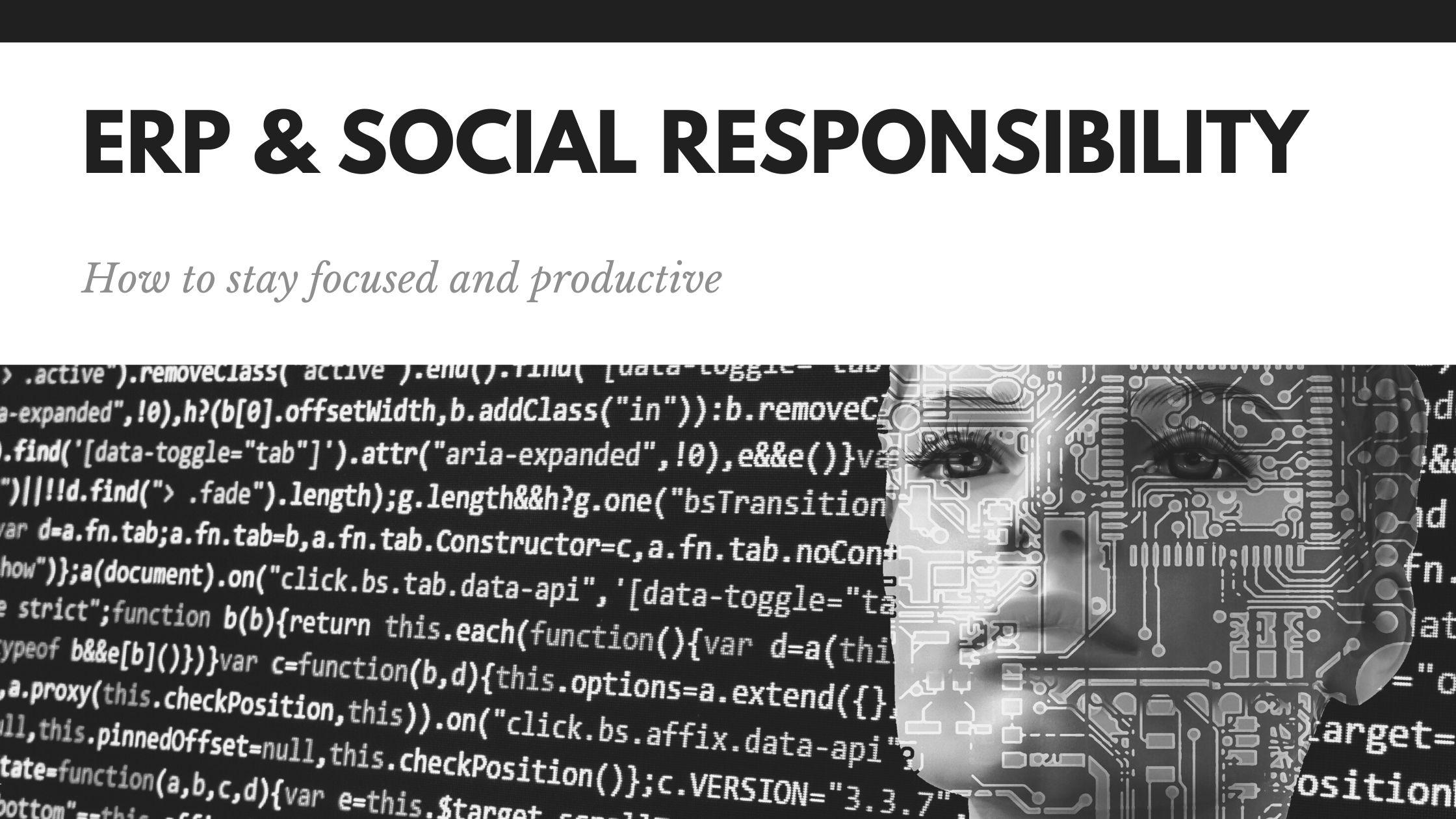 ERP & Social Responsibility | Socially Responsible ERP | Enterprise Resource Planning (ERP) and Sustainability | ERP Systems and Sustainability