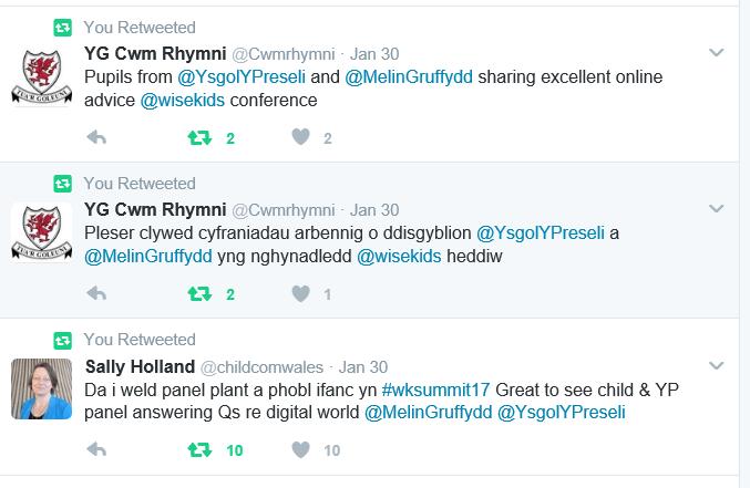 Cynhadledd Wisekids 30.1.17 1