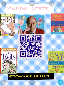 Poster Roald Dahl