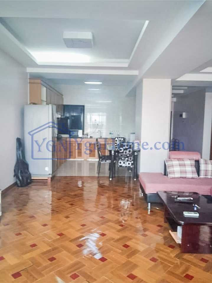 3 BR minicondo with 1700 Sqft for RENT in Stadium View minicondo, Mingalar Taung Nyunt tsp.