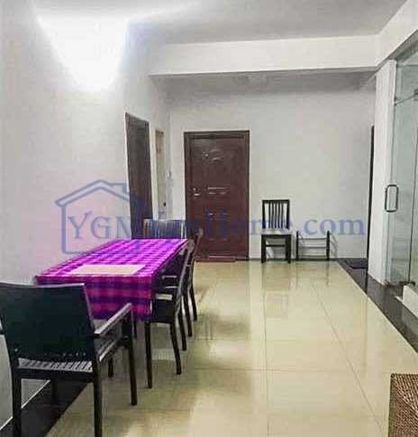 1700 Sqft with 4 BR Mini Condo for RENT in Shan Kone Condo, Sanchaung Tsp.