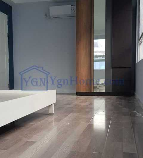 1690 Sqft with 3 BR Condo for RENT in Shwe Moe Kaung Condo, Yankin Tsp.