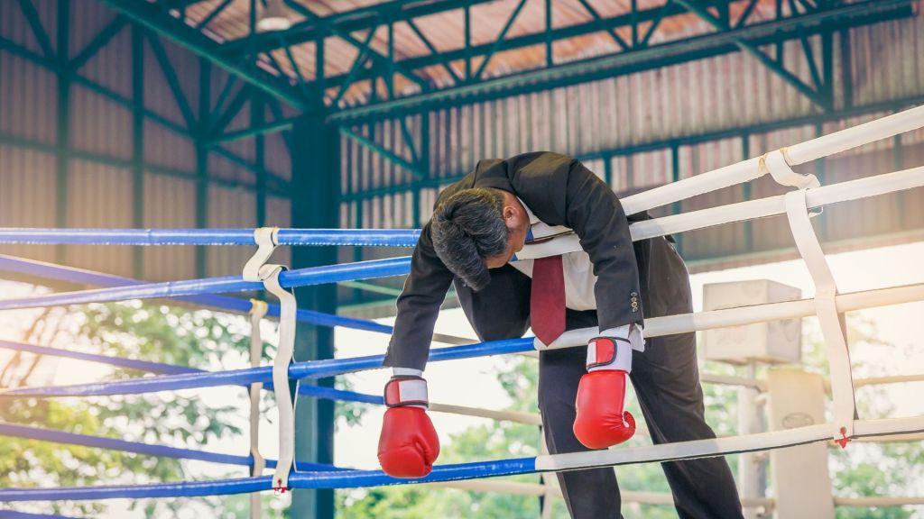 boxeur ko