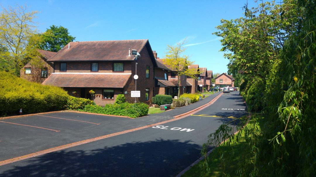 A picture of housing provided by Yardley Great Trust