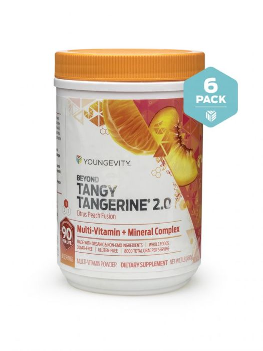 Btt 2.0 Citrus Peach Fusion 480g Canister 6 Pack