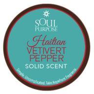 Haitian Vetivert Pepper Solid Scent 0.5oz
