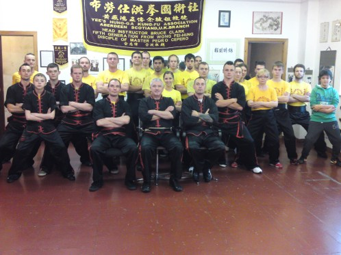 Class photo taken October 27th 2013 at Aberdeen Yee's Hung Ga