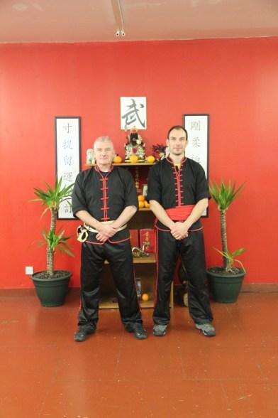 Si-Gung Bruce Clark & Sifu Simon Hepple