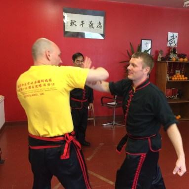 Sifu Hepple practicing (June 2016)