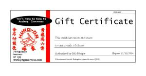 yhginverness gift certificates