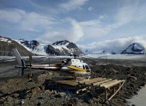 Stewart BC glaciers