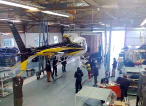 helicopter maintenance centre service