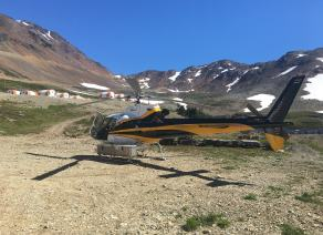 Natural Resource Exploration Support | Yellowhead Helicopters Ltd