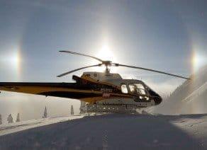 Heli-ski avalanche bombing control