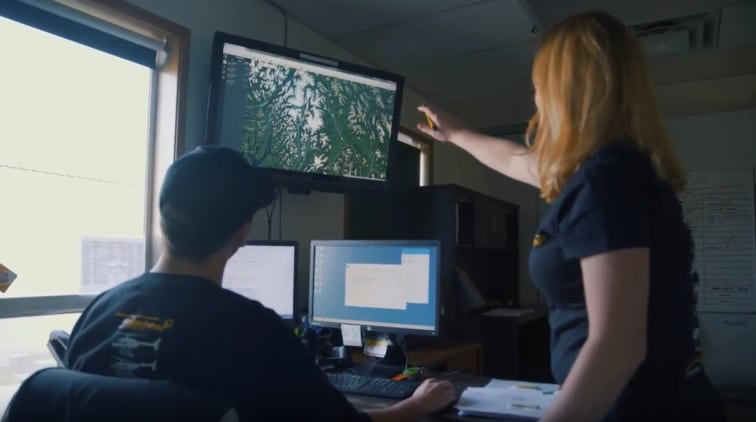 Yellowhead Helicopters operations centre