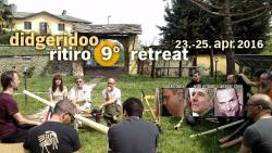 9. Didgerdioo Ritiro Turin / Italien - Workshop - Konzerte