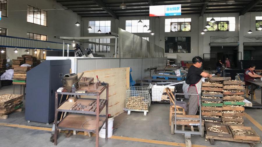 Heat Exchanger Manufacturing Room