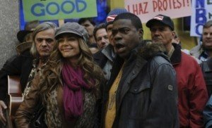 Denise Richards and Tracy Morgan