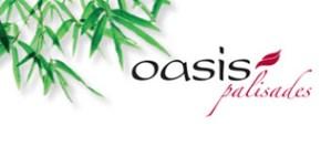 Oasis Palisades logo with bamboo.
