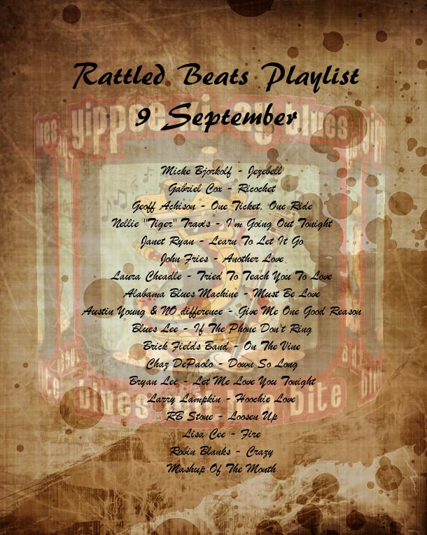 Rattled Beats Playlist 9 September