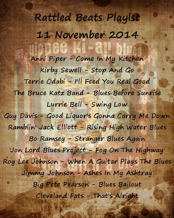 Rattled Beats Playlist Nov 11, 2014