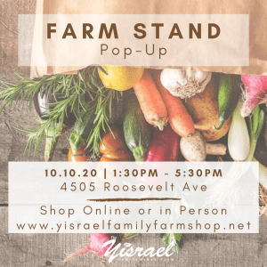Farm Stand Pop-Up @ The Yisrael Family Urban Farm | Sacramento | CA | US