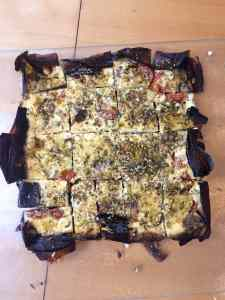 aubergine cheesecake 1