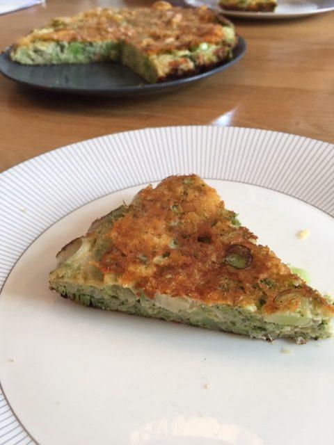 Frittata met broccoli - broccolitaart