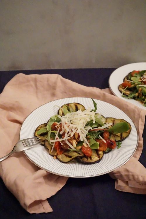 aubergine carpaccio