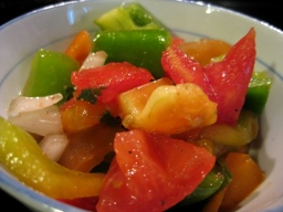 summer pepper salad