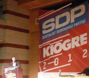 YKP Sdp kongresine katildi