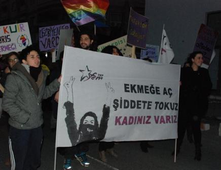 Kıbrıs'ta 8 Mart: Söyleyecek sözümüz, yapacak gücümüz var