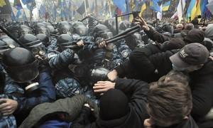 Anti-government protest in Kiev, 24/11/13
