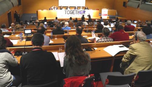 Avrupa Sol Partisi borçlanma krizine karşı uluslararası konferans düzenledi