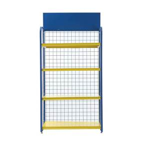 4 Tier Engine Oil Lubricating Oil Display Rack-02