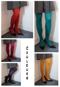 collants de couleur