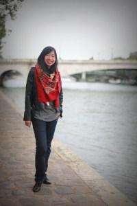 foulard quai de seine
