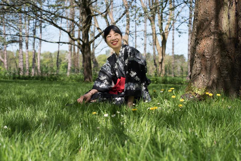 ~ Balade au parc de Sceaux sous les cerisiers fleuris (2/2) ~