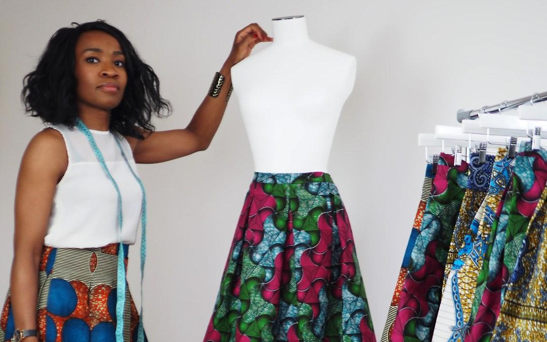 ~ Interview de la créatrice de «36 rue Félix», la marque de jupes en Wax qui subliment la silhouette de la femme ~